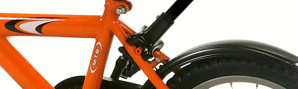 Billede af beslag på skubbestang til børnecykel